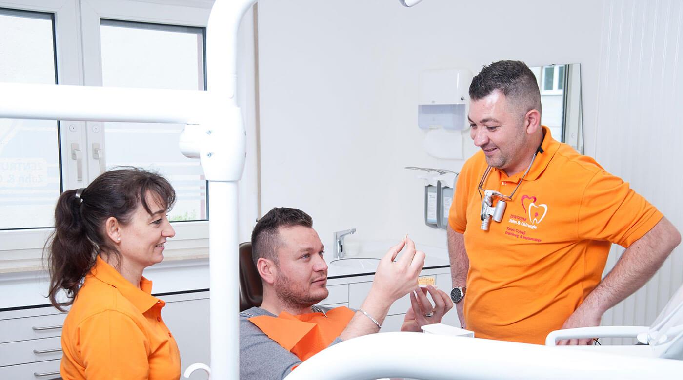 Foto zur Seite: Philosophie – Zentrum für Zahn & Chirurgie in Langen