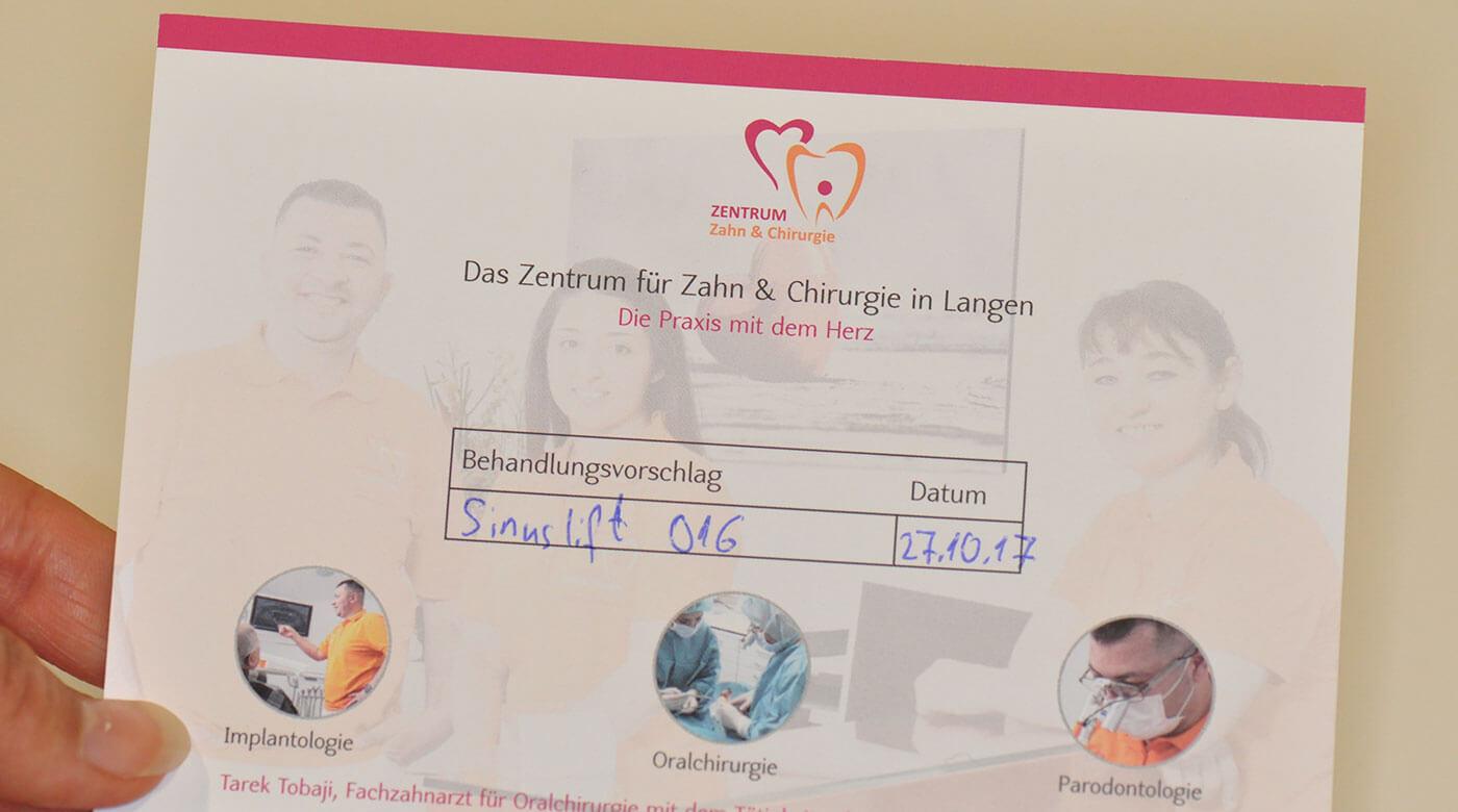 Foto zur Seite: Überweiser – Zentrum für Zahn & Chirurgie in Langen
