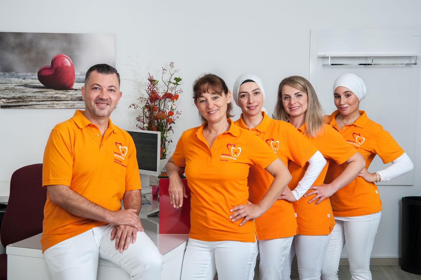 Foto zur Seite: Das Team – Zentrum für Zahn & Chirurgie in Langen